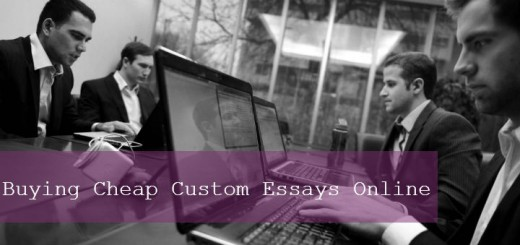 Buying Cheap Custom Essays Online